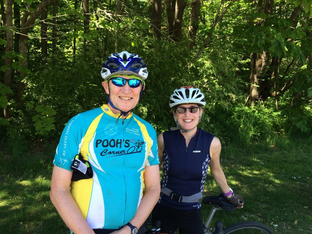 Dr. Malcolm Moore and Sarah Roth