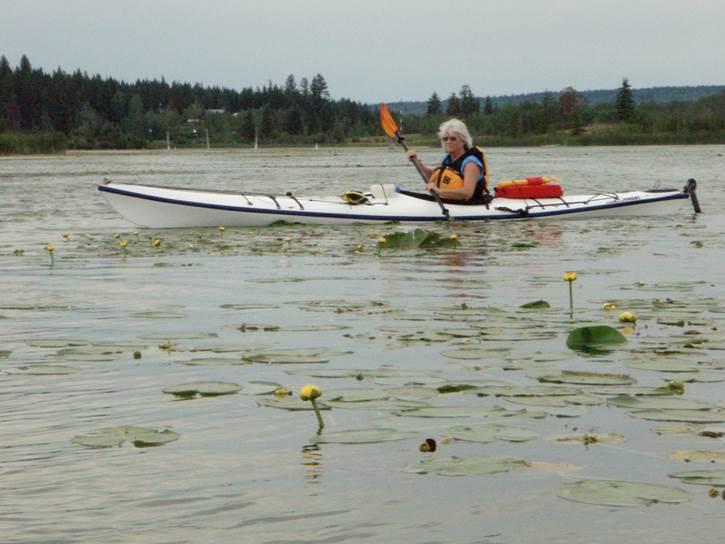Sarah Sample Kayaking