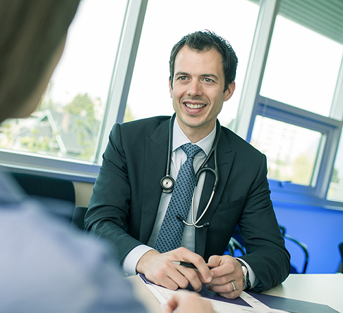 Dr. Dan Renouf, BC Cancer, Oncologist